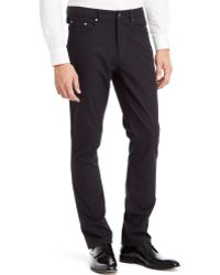 Kenneth Cole Reaction Five-pocket Pinstriped Pants - Lyst