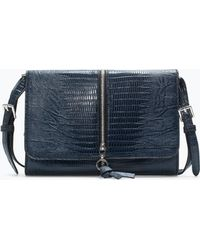 Zara Messenger Bag with Zip - Lyst