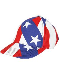 Love Moschino - Stars And Stripes Cotton Gabardine Hat - Lyst