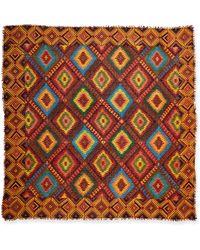 Tolani - Odelia Printed Caftan Tunic & Tribal Graphic-print Scarf - Lyst