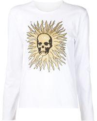 Lucien Pellat Finet - Skull Print Sweatshirt - Lyst