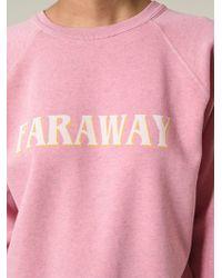 Etoile Isabel Marant East Cotton-Blend Sweatshirt - Lyst