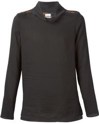 Paul Smith Funnel Neck Sweater - Lyst