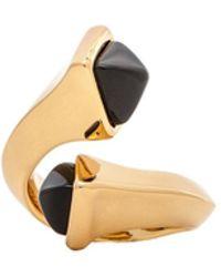 Rachel Zoe Gold Bypass Ring - Lyst