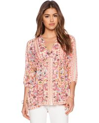 Antik Batik Rosie Blouse - Lyst