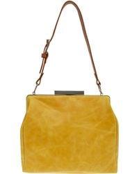 Ally Capellino - Yellow Eva Marie Leather Bag - Lyst