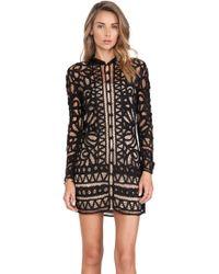 Stone Cold Fox Black Topeka Dress - Lyst