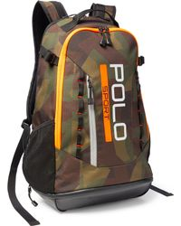 Pink Pony | Camouflage Sport Backpack | Lyst