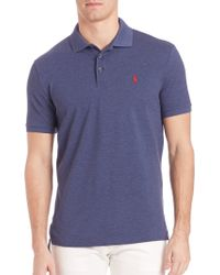 Ralph Lauren Blue Label | Stretch-cotton Polo Shirt | Lyst