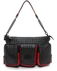 L.a.m.b. Eden Shoulder Bag  Black - Lyst