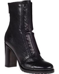 Jimmy Choo Datchet Boot Black Leather - Lyst