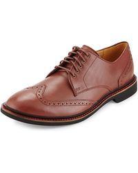 Cole Haan Phinney Leather Wing-tip Oxford - Lyst