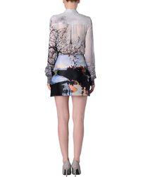 Mary Katrantzou Printed Mini Skirt - Lyst