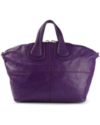 Givenchy Purple Nightingale Tote - Lyst