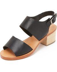 Rachel Comey Tulip Sandals - Black