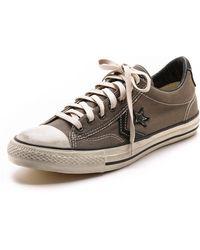 Converse X John Varvatos Jv Star Player Canvas Sneakers - Lyst