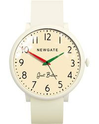 Newgate Watches | Wwlclbc002sc Unisex Club Stainless Steel Silicone Strap Watch | Lyst