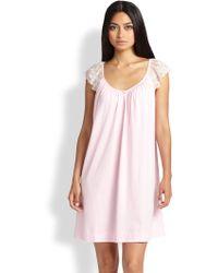 Cottonista - Sleeveless Short Gown - Lyst
