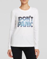 Marc By Marc Jacobs Tee - Don'T Panic - Lyst