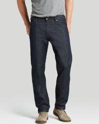 Raleigh Denim Jeans - Alexander Straight Fit In Resin - Lyst