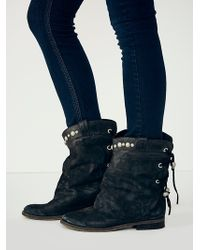 Free People Black Wayland Boot - Lyst