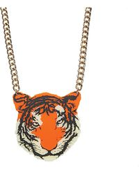 Tatty Devine Tiger Necklace - For Women - Lyst