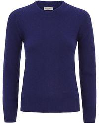 Burberry London Crew Neck Cashmere Sweater - Lyst
