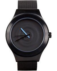 Sismeek L'Onde Bleue Black Chain Strap Watch - Lyst