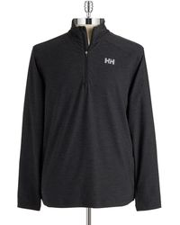 Helly Hansen Heathered Performance Top - Lyst