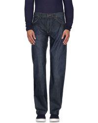 Lacoste Denim Pants - Blue