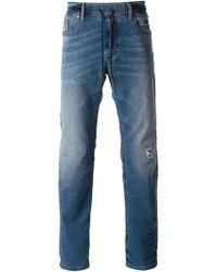 Diesel Straight Leg Jeans - Lyst