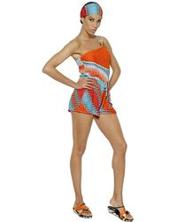 Missoni  Viscose Blend Knit Cover Up - Lyst