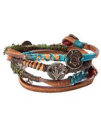 Wakami - Leather Dream Bracelet - Lyst