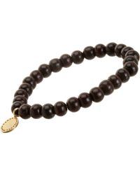 Devon Page Mccleary - Bead Bracelet With Serene Buddha Charm - Lyst