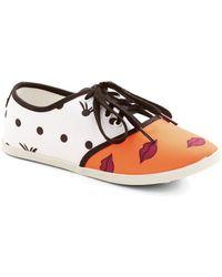 Dv By Dolce Vita Quirk It Sneaker in Lips - Lyst