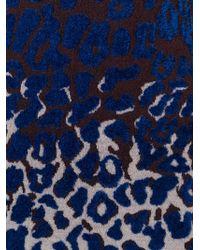 Lanvin - Leopard Print Dress - Lyst