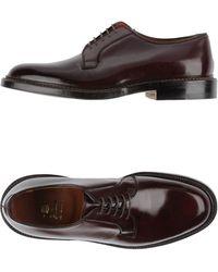 Alden Lace-Up Shoes - Purple