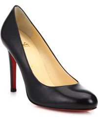 Christian Louboutin | Simple Leather Pumps | Lyst