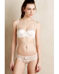 Stella McCartney White Mia Bra - Lyst