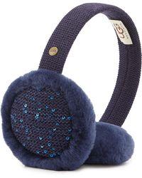 Ugg Lyra Sequined Headphone Earmuffs - Lyst