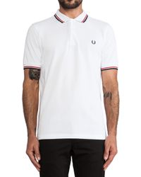 Fred Perry Twin Tipped Shirt - Lyst
