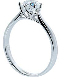 Carat* - Rosy Round 0.75ct Solitaire Ring - Lyst