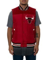 Mitchell & Ness The Chicago Bulls Title Holder Vest - Lyst