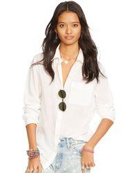Denim & Supply Ralph Lauren Boyfriend Shirt - Lyst