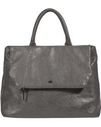 Dorothee Schumacher Easy Shine Shopper Big - Gray