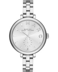 Marc By Marc Jacobs Women'S Sally Stainless Steel Bracelet Watch 36Mm Mbm3362 - Lyst