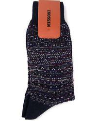 Missoni Mixed Print Socks - Lyst