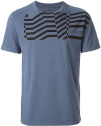 Golden Goose Deluxe Brand Blue Printed T-shirt - Lyst