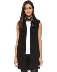 ELEVEN PARIS - Page Vest - Black - Lyst