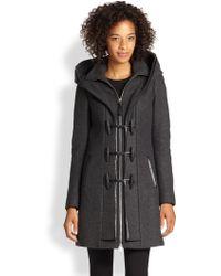 Mackage Leathertrim Toggle Coat - Lyst